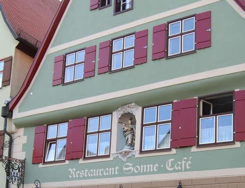 Sanierung – Gasthaus/Hotel Sonne Dinkelsbühl