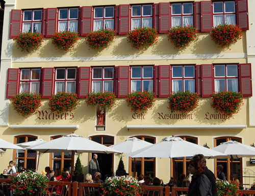 Sanierung – Café Meisers Dinkelsbühl