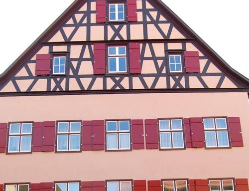 Sanierung – Mehrfamilienhaus in Dinkelsbühl